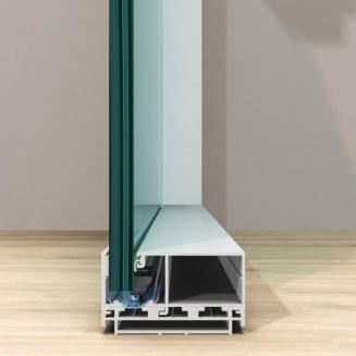 מחיצת זכוכית מדגם Ritmica d1dA