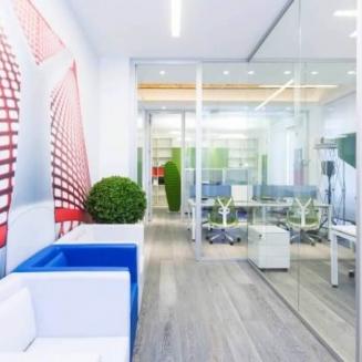 מחיצת זכוכית משרד Unica U
